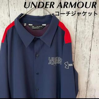 UNDER ARMOUR - UNDER ARMOUR アンダーアーマー ベースライン コーチジャケット