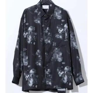 STUDIOUS - [未使用品] STUDIOUS ダークフラワービッグシルエットシャツ 柄シャツ