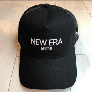 NEW ERA - NEWERA ニューエラ ロゴメッシュキャップ スナップバッグ
