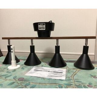 ドウシシャ(ドウシシャ)のジャンク品 ドウシシャ 4灯シーリングライト ブラック(天井照明)