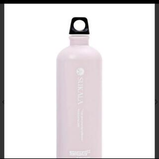 LAVA水素水ボトル未使用スモークピンク