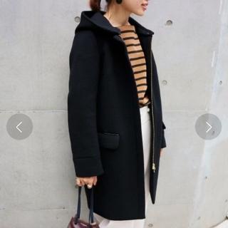 イエナ(IENA)のIENA IENA 二重織りシャルムフードコクーンコート サイズ40(ロングコート)