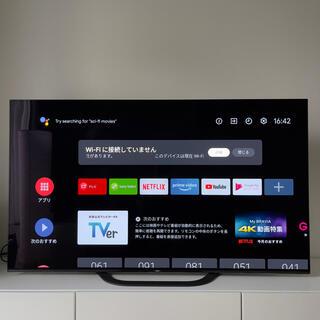 SONY - ほぼ新品!美品!大型4Kテレビ、55インチ、SONY KJ-55A8G