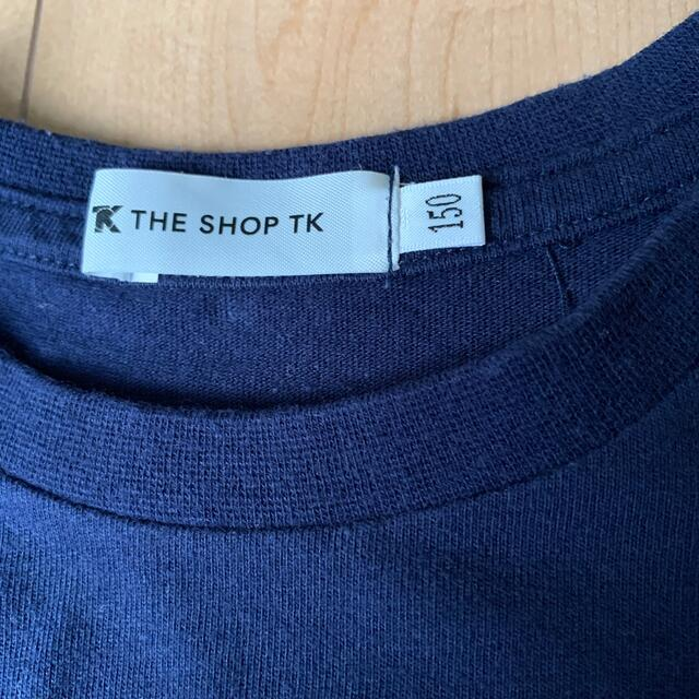 TK(ティーケー)のTKロングシャツ 150 キッズ/ベビー/マタニティのキッズ服女の子用(90cm~)(Tシャツ/カットソー)の商品写真