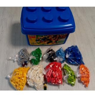 レゴ(Lego)のLEGO 4496 基本セット 青いコンテナ レゴブロック (積み木/ブロック)