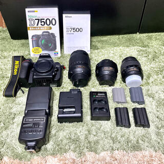 Nikon - Nikon d7500 レンズセット