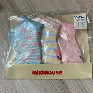 mikihouse - ミキハウス MIKIHOUSE 靴下 ローカット 13-15
