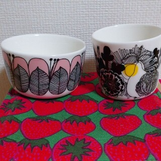マリメッコ(marimekko)のマリメッコ コーヒーカップ ボウル セット(食器)