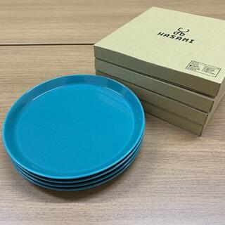 HASAMI - 波佐見焼・食器・Φ220プレート(4枚セット・グリーン)