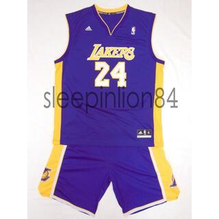 アディダス(adidas)の★Adidas★ レイカーズ ユニフォーム セットアップ ジャージ ゲームシャツ(バスケットボール)