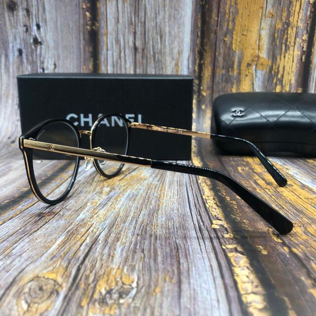 CHANEL(シャネル)の送料込 CHANEL メガネフレーム ブラック  レディースのファッション小物(サングラス/メガネ)の商品写真