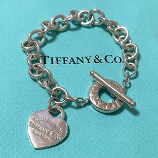 Tiffany & Co. - ティファニー トグル ハートタグ ブレスレット スターリングシルバー925