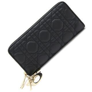 クリスチャンディオール(Christian Dior)の ディオール ラウンドファスナー長財布 レディ ディオール(財布)