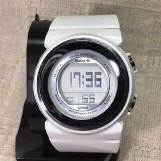 ベビージー(Baby-G)のホワイト人気モデルBaby-G  CASIO ベビーG腕時計 カシオ腕時計(腕時計)