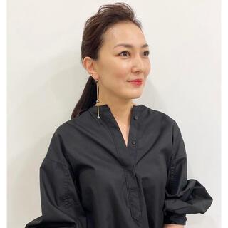 SINME シンメ ボリュームシャツ ブラック