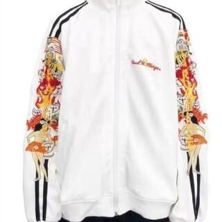 Doublet 18aw CHAOS EMBROIDERY TRACK JACK