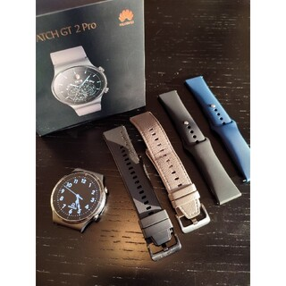 HUAWEI - 美品 Huawei watch gt2 pro Nebula Gray おまけ