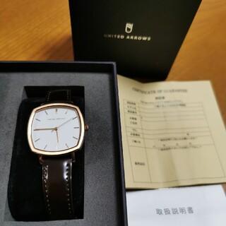 ユナイテッドアローズ(UNITED ARROWS)のnatstko様専用【未使用】ユナイテッドアローズ 腕時計 UA0702(腕時計)
