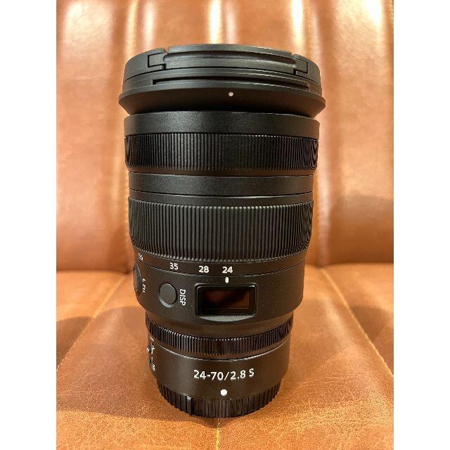 Nikon(ニコン)の【美品】Nikon (ニコン) NIKKOR Z 24-70mm F2.8 S  スマホ/家電/カメラのカメラ(レンズ(ズーム))の商品写真