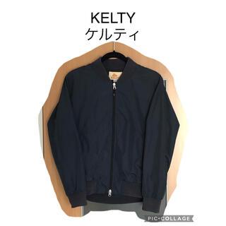 ケルティ(KELTY)のKELTY×SHIPS ケルティ シップス MA-1 リブブルゾン ネイビー M(ブルゾン)