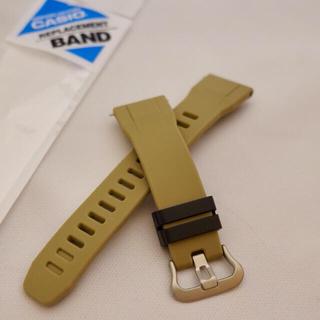 カシオ(CASIO)のCASIO PROTREK PRW-30 純正 ベージュベルト(バネ棒付き)(腕時計(デジタル))