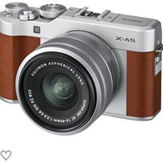 フジフイルム(富士フイルム)のFUJIFILM ミラーレス一眼カメラ レンズキット  X-A5LK-BW(ミラーレス一眼)