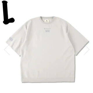 SEA - snowpeak ウィンダンシー Tシャツ ライトグレー