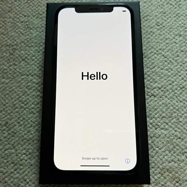 Apple(アップル)の[美品]iPhone 12 pro パシフィックブルー 128GB SIMフリー スマホ/家電/カメラのスマートフォン/携帯電話(スマートフォン本体)の商品写真