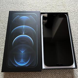 Apple - [美品]iPhone 12 pro パシフィックブルー 128GB SIMフリー
