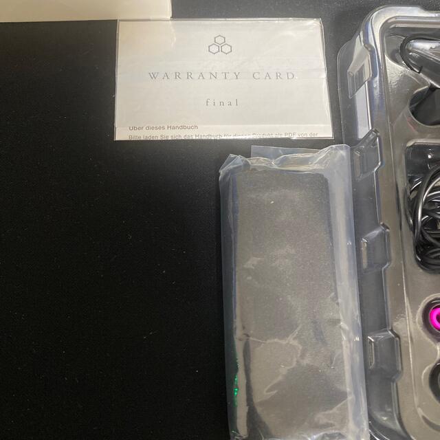 ほぼ新品 使用10分程度 final VR3000 for Gaming  スマホ/家電/カメラのオーディオ機器(ヘッドフォン/イヤフォン)の商品写真