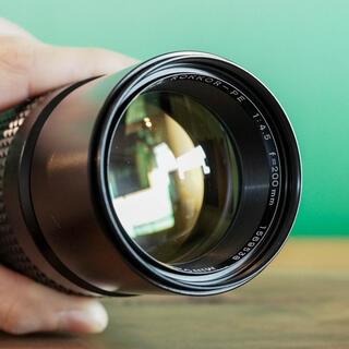 コニカミノルタ(KONICA MINOLTA)の 【光学極上】MC tele Rokkor PE 200mm f4.5 単焦点(レンズ(単焦点))