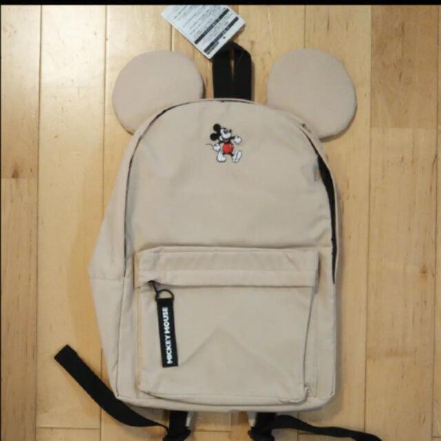 Disney(ディズニー)の新品タグ付き❣️最安値!定価4000円 ディズニーリゾートミッキーリュック レディースのバッグ(リュック/バックパック)の商品写真