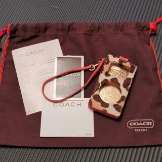 コーチ(COACH)の【COACH】iPodケース【ハラコ素材】(モバイルケース/カバー)