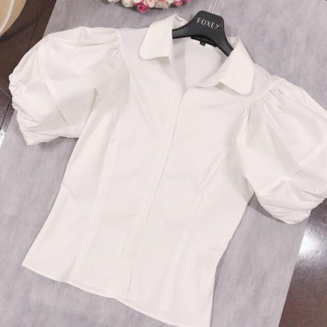FOXEY(フォクシー)のフォクシー ブラウス レディースのトップス(シャツ/ブラウス(半袖/袖なし))の商品写真