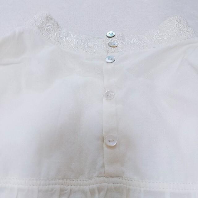 franche lippee(フランシュリッペ)のビーズブラウス レディースのトップス(シャツ/ブラウス(半袖/袖なし))の商品写真