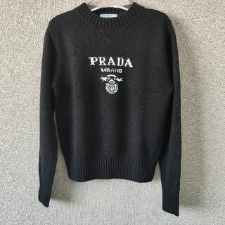 PRADA - プラダ ニット/セーター ブラック M