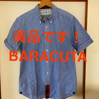 バラクータ(BARACUTA)の希少!美品です!バラクータイングランド チェックテーピング コットンシャツ(シャツ)