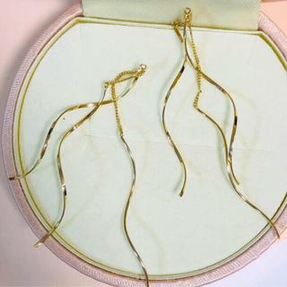 JEWELRY TSUTSUMI - ジュエリーツツミ イエローゴールド 螺旋ピアス アメリカンピアス