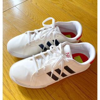 adidas - adidas NEO アディダス ネオ スニーカー ホワイト 24cm