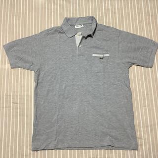 ラコステ(LACOSTE)のLACOSTE  ポロシャツ サイズ5(L) グレー 美品(ポロシャツ)