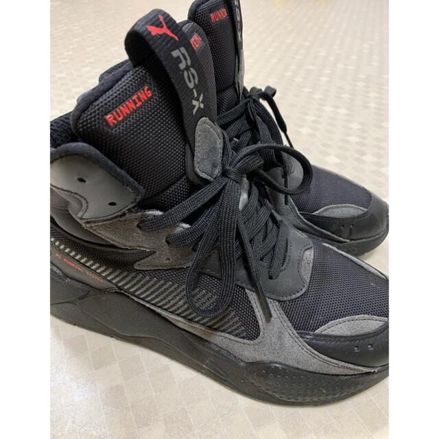 PUMA(プーマ)のプーマ RS-X ミッドトップ バイナリー コード BLACK 25cm レディースの靴/シューズ(スニーカー)の商品写真