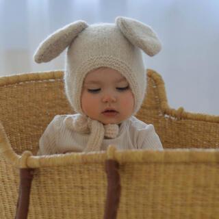 キャラメルベビー&チャイルド(Caramel baby&child )のbambolina バンボリーナ ボンネット バニー うさぎ(帽子)