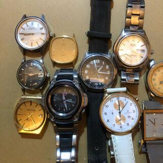 カシオ(CASIO)のカシオ、スイスブランド等 メンズ・レディース腕時計 ジャンク品 16点セット(腕時計(アナログ))
