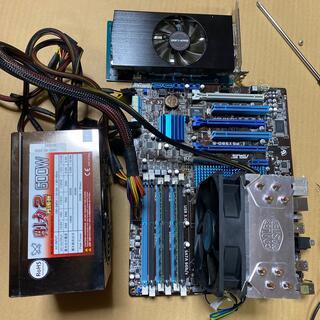 Corei7、マザーボード、メモリ、電源、グラボ、セット