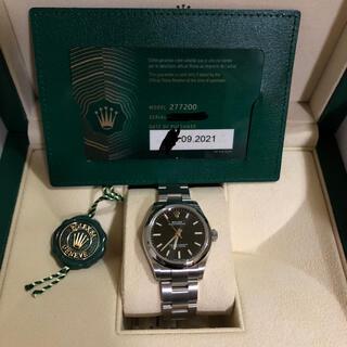 ROLEX オイスターパーペチュアル31 ブラック 277200(腕時計)