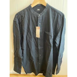 ユニクロ(UNIQLO)のオーバーサイズ フランネルスタンドカラー シャツ UNIQLO(シャツ)