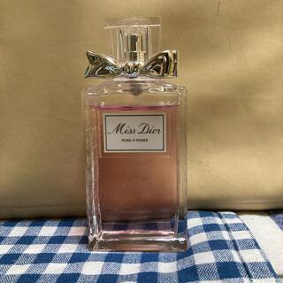 クリスチャンディオール(Christian Dior)のミスディオール ローズ&ローズ 100mlの中古 箱なし(香水(女性用))