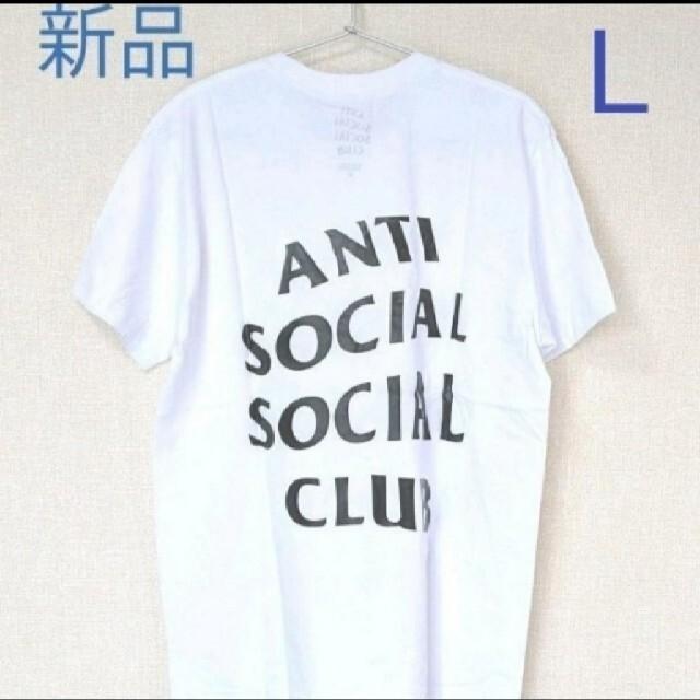 ANTI(アンチ)のANTI SOCIAL SOCIAL CLUB Tシャツ ホワイト L メンズのトップス(Tシャツ/カットソー(半袖/袖なし))の商品写真