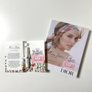 クリスチャンディオール(Christian Dior)の新作 Miss Dior オードゥパルファン 試供品 1ml お値段交渉可能!(香水(女性用))