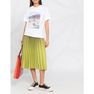 マルニ(Marni)の【極美品】PLAN C プリントTシャツ 21ss(Tシャツ(半袖/袖なし))